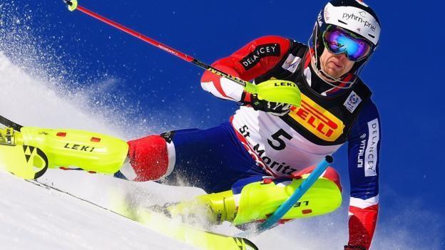 Alpine World Ski Championships: Marcel Hirscher wins slalom