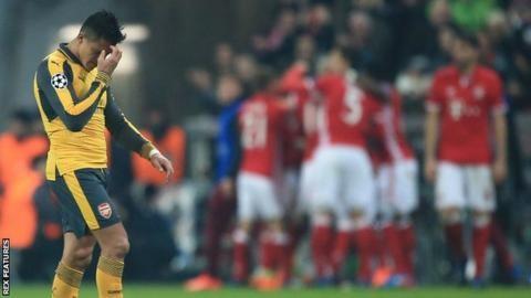 Arsenal torn apart in 5-1 humbling at Bayern