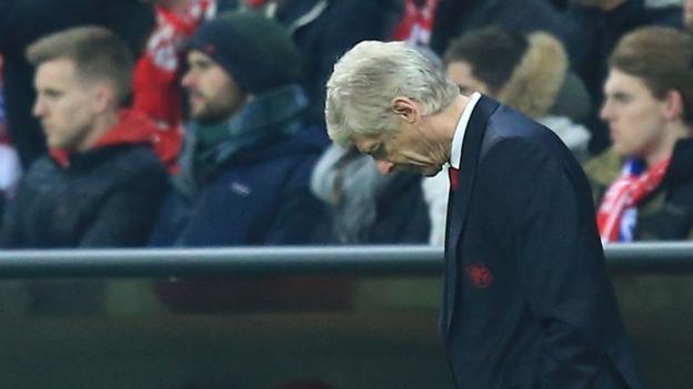 Arsene Wenger: Arsenal 'mentally collapsed' against Bayern Munich