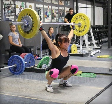 Ask Greg: Should Snatches Be Received as High or Low as Possible?