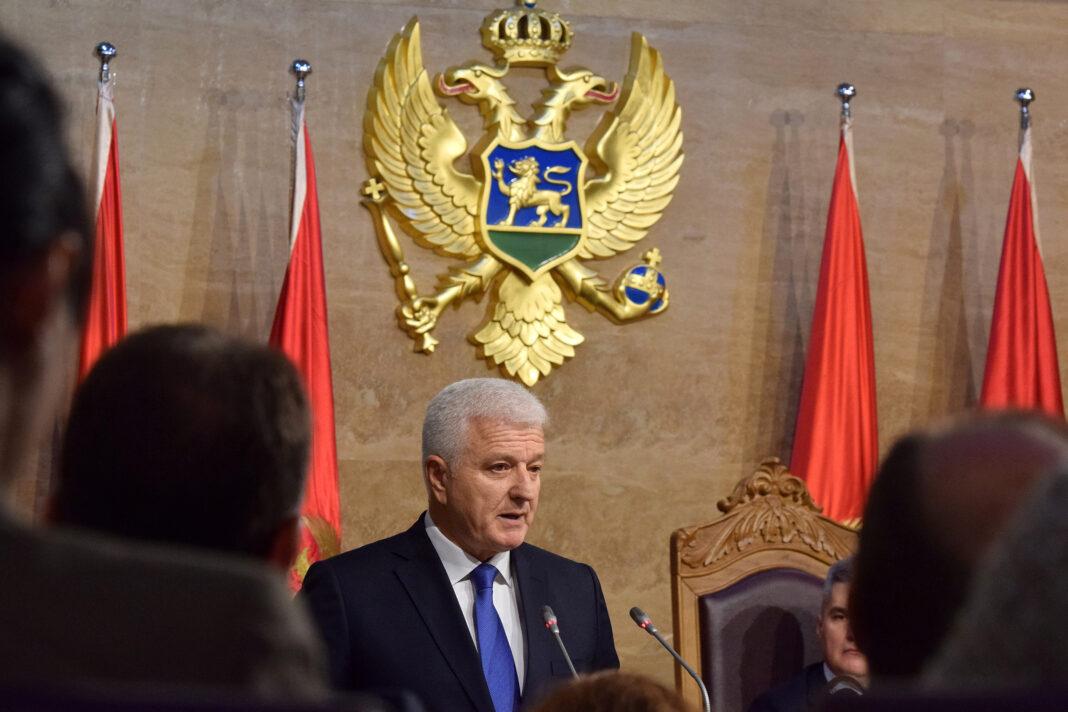 At NATO gathering, Trump brushes past Montenegro's prime minister