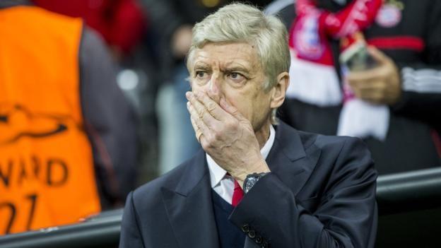 Bayern Munich 5-1 Arsenal: Wenger on Gunners 'nightmare'