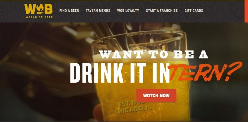 Beer company pays interns to drink, travel the world