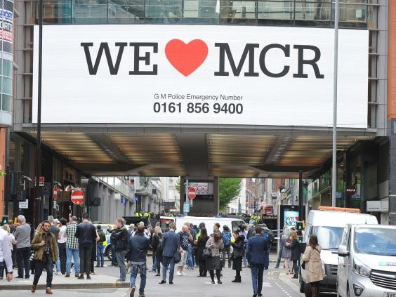 Bomber 'was pictured wearing backpack at Manchester's Arndale Centre three days before atrocity'
