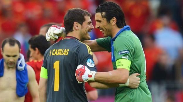 Casillas & Buffon: Two goalkeeping legends prepare to meet again
