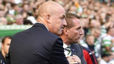 Celtic boss Rodgers 'saddened' by Warburton's Rangers exit