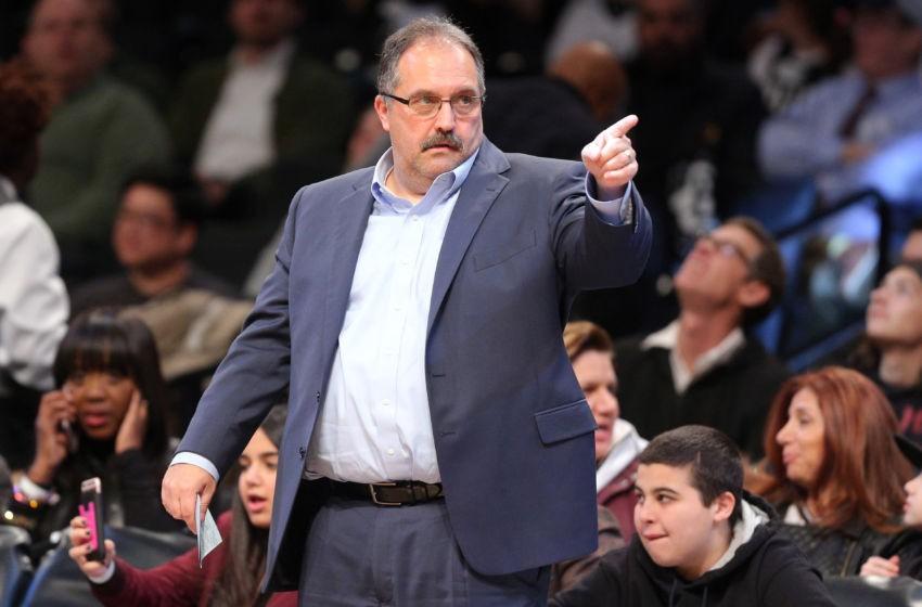 Detroit Pistons coach Stan Van Gundy named Rudy Tomjanovic Award winner