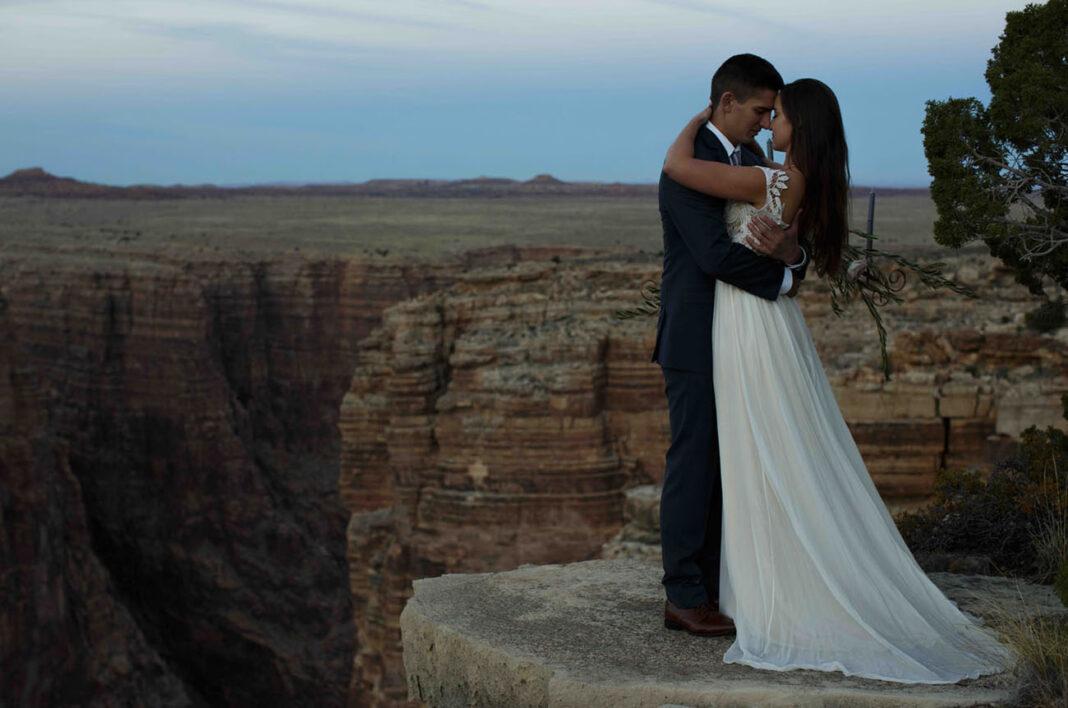 Dusk in the Arizona Canyons: Wedding Inspiration