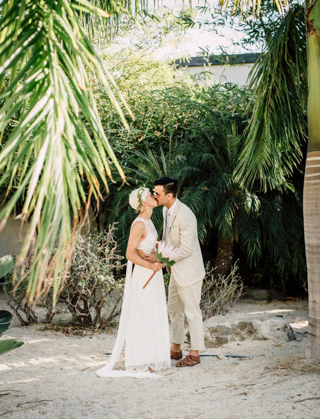Easy Breezy Baja California Surfer Wedding
