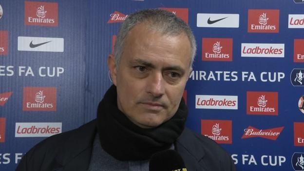 FA Cup: Blackburn were brilliant and brave - Jose Mourinho
