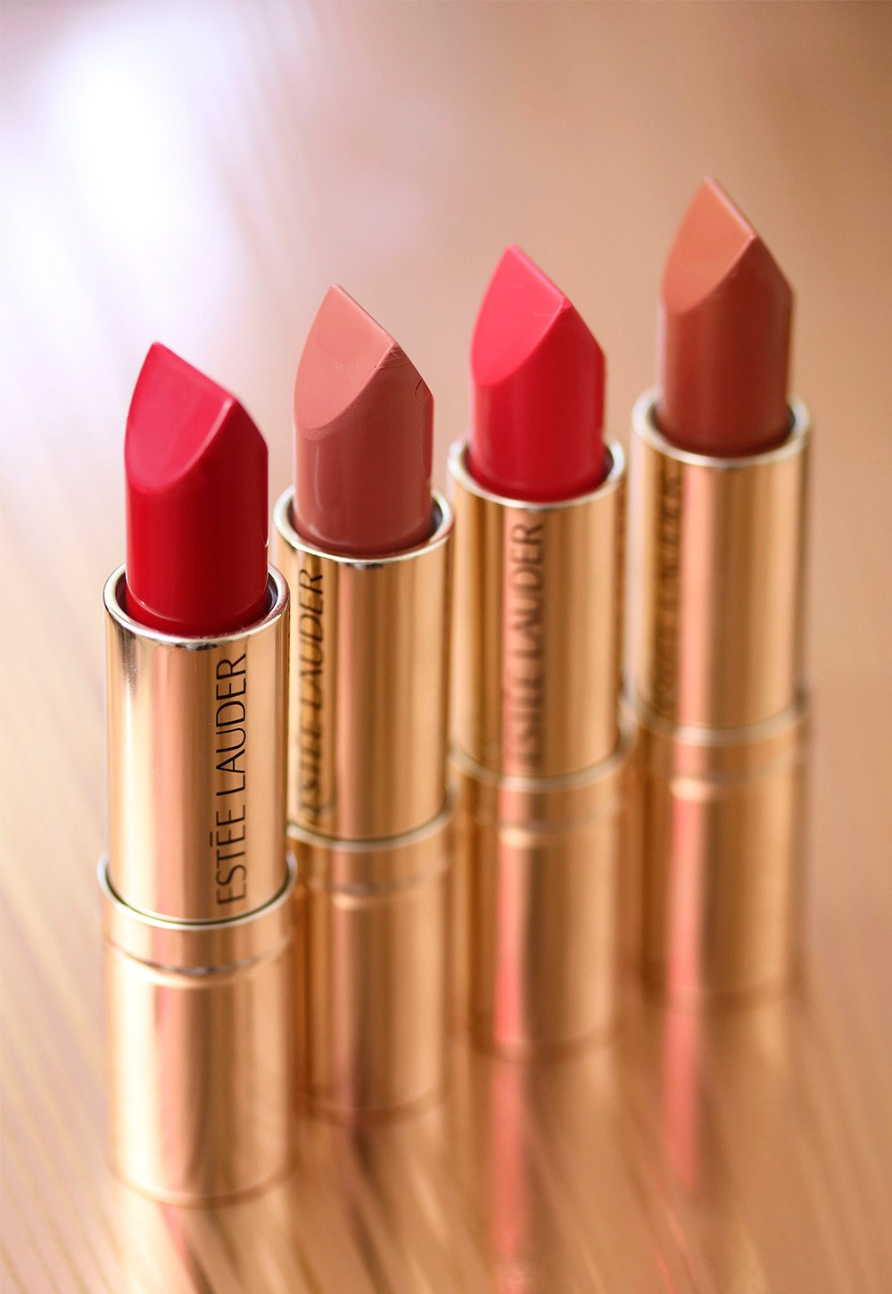 Funky Bullets! A Quick Look at a Few Shades From the Estée Lauder Pure Color Love Lipstick Line
