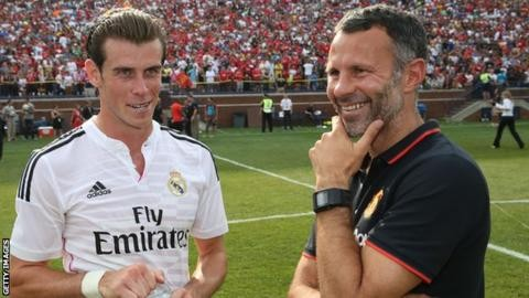 Gareth Bale can be considered Wales' greatest footballer, says Ryan Giggs