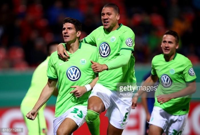 Gomez gives Wolfsburg edge