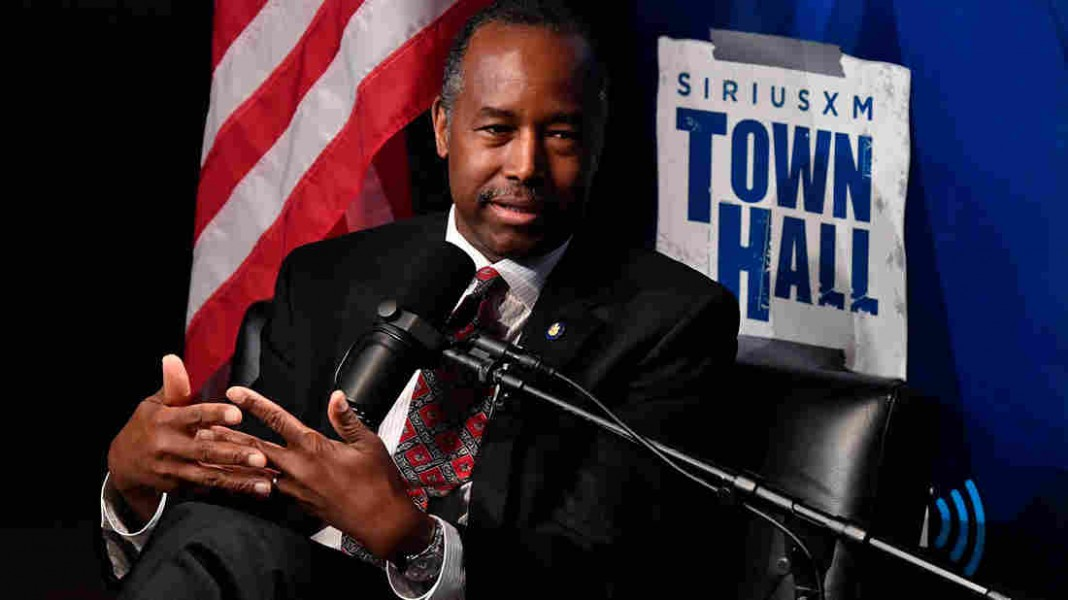 Housing Secretary Ben Carson Says Poverty Is A 'State Of Mind'