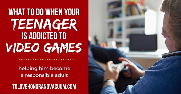 How Do I Keep My Teenage Son from Getting Addicted to Gaming?