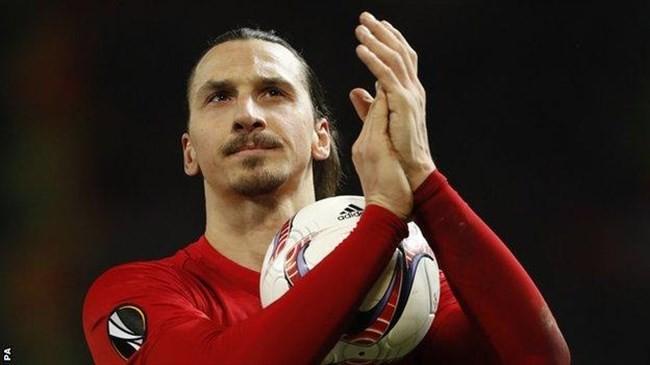 Ibrahimovic hat-trick puts Man Utd in control of Saint-Etienne tie