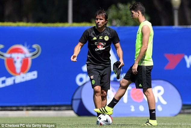 I'm enjoying football under Conte – Moses