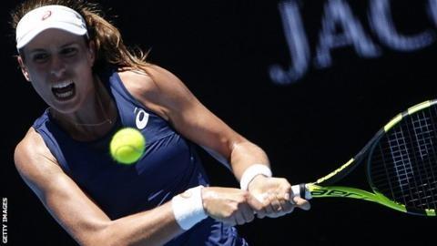 Johanna Konta withdraws from Dubai with a foot injury