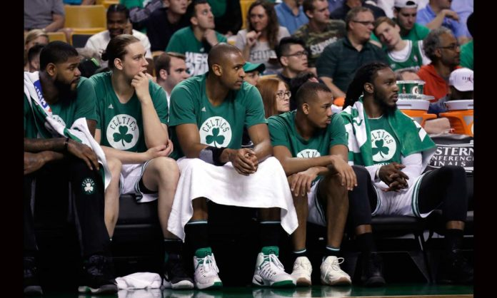 Kelly Olynyk will start in place of injured Amir Johnson in Game 4 for Boston Celtics