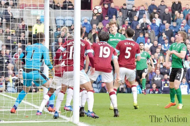 Lincoln stun Burnley in historic FA Cup win