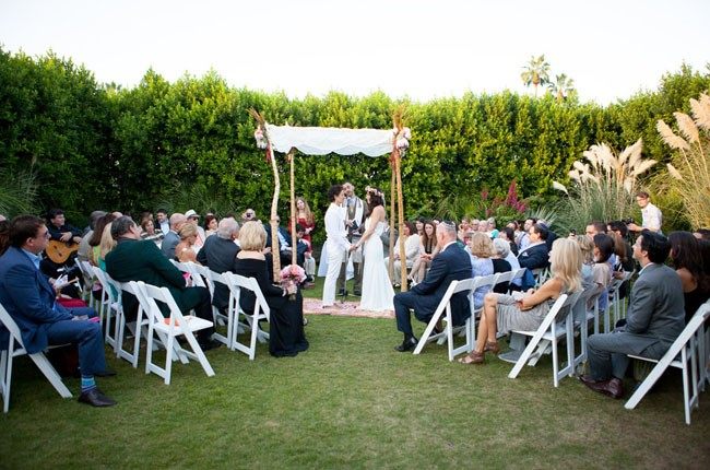 Lush Palm Springs Wedding at the Parker