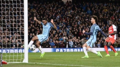 Man City rally to beat Monaco 5-3 in thriller