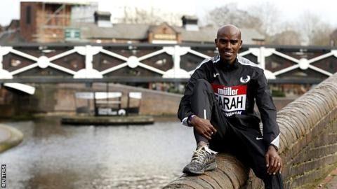 Mo Farah ready for final indoor race at Birmingham Indoor Grand Prix