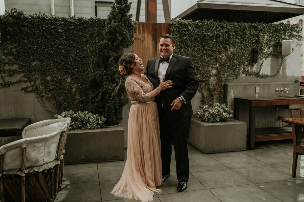 New Year's Eve Wedding at the Natural History Museum of Los Angeles