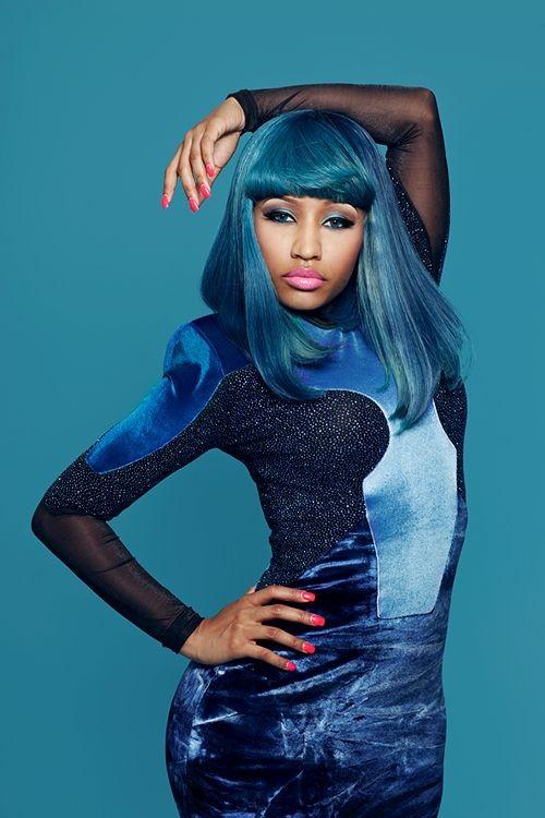 Nicki Minaj wears ankle-length Indian weave