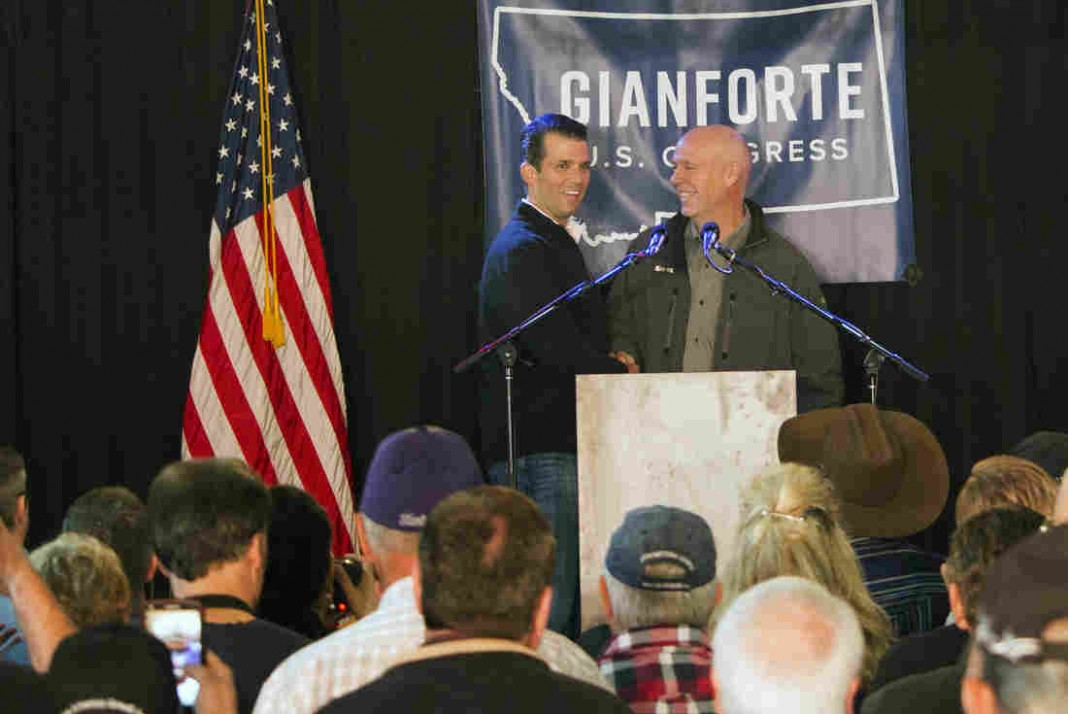 Republican's Altercation With Reporter Shakes Up Montana Race On Eve Of Voting
