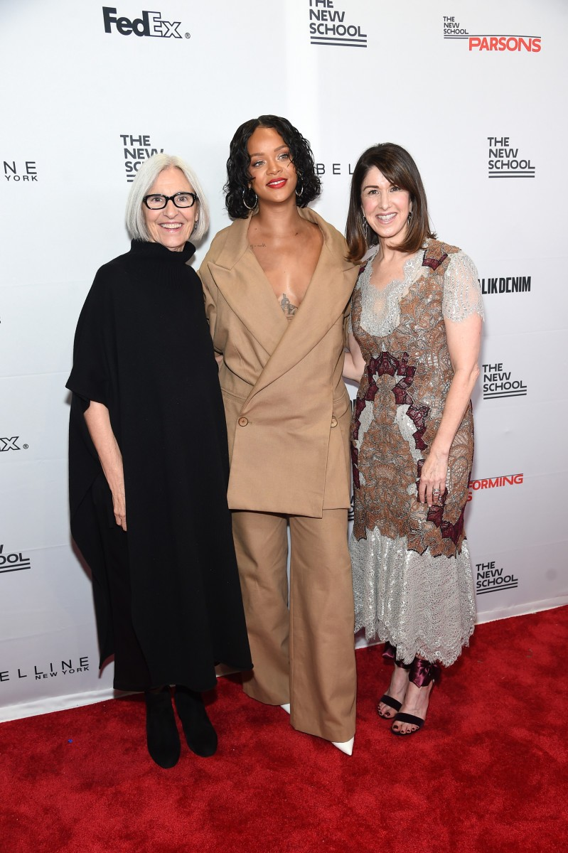 Rihanna, Eileen Fisher and Neiman Marcus Honored at 2017 Parsons Benefit