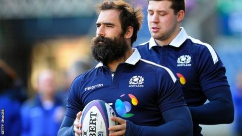 Scotland's Strauss ruled out of Six Nations