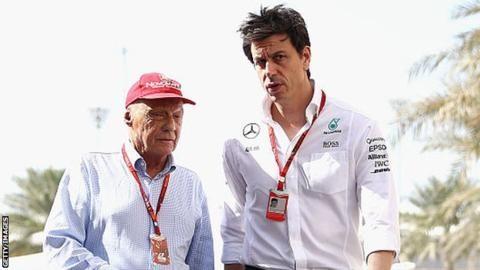 Toto Wolff & Niki Lauda sign new Mercedes deals until 2020