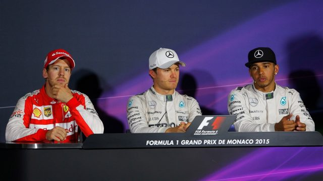 Vettel flies in Monaco, Lewis labours