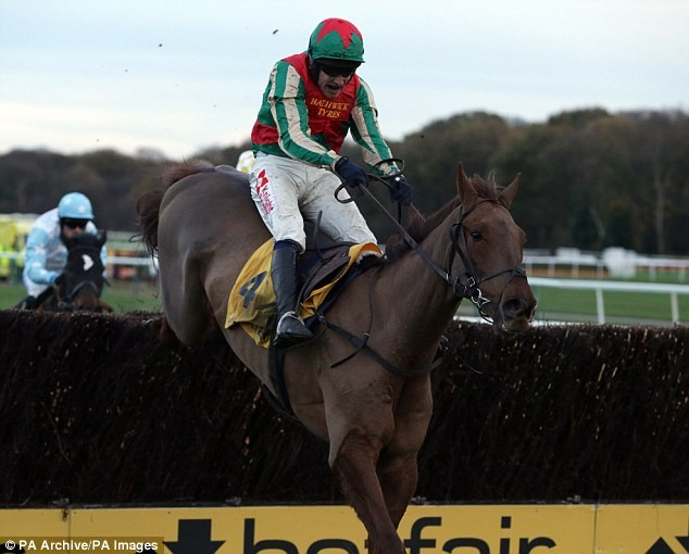Vieux Lion Rouge boosts Grand National hopes