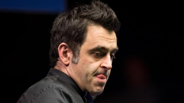 Welsh Open 2017: Ronnie O'Sullivan knocked out by Mark Davis in second round