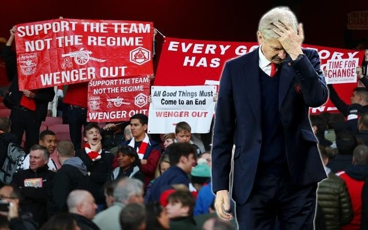 Wenger stays: reaction