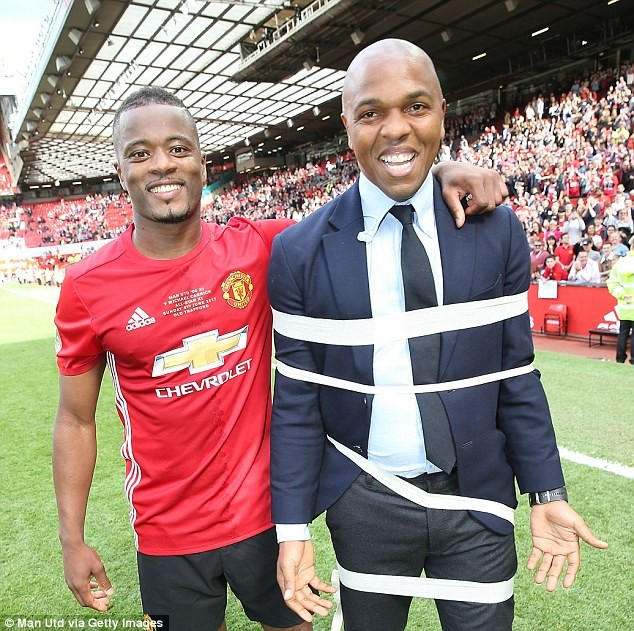 36yr old Patrice Evra says he can't retire from the game yet because he has 24 siblings to take care of