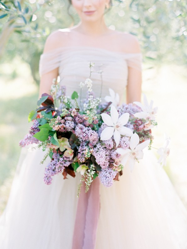 A Sea of Lilac is the Ultimate in Romance