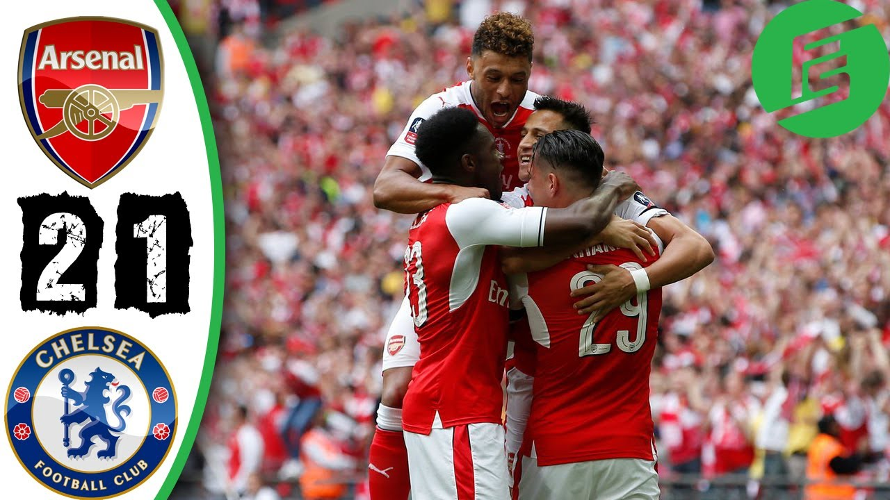 Arsenal vs Chelsea 2-1 - Highlights & Goals - 27 May 2017