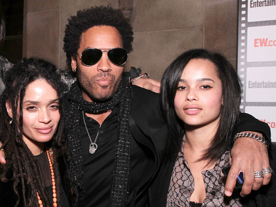 Before And After Photos Of Lenny Kravitz Lisa Bonet And