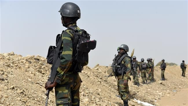 Cameroonian soldiers block highway, demand salary payment