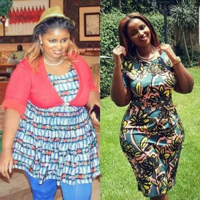 Check out this woman's amazing weight loss...