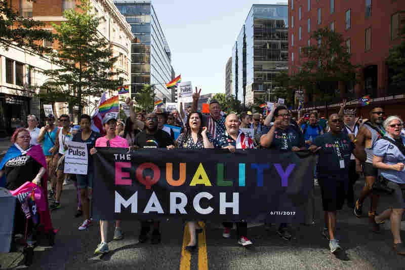D.C. Equality March Makes Pride Political