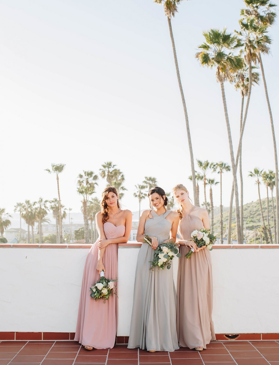 Dreamy Dresses for the Bride + Bridesmaids from Azazie