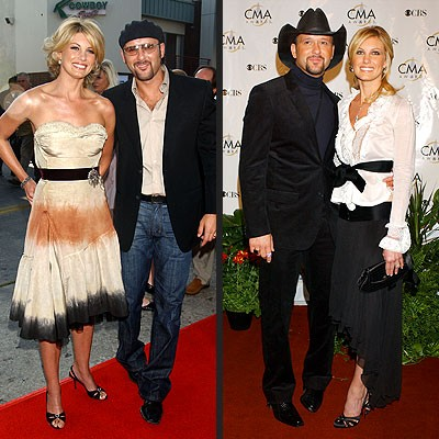 Faith Hill and Tim McGraw's Cutest Red Carpet Moments Revealed