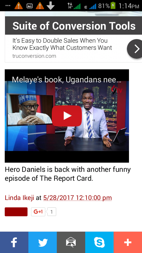 Hero Daniels is back with another amazing new episode of The Report Card