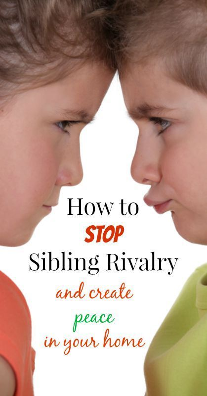 the issue of sibling rivalry in homes Learn about sibling birth order, handling sibling rivalry sibling issues are prone an older sister or brother at home what a sibling can do to show your.