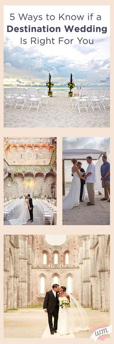 How To Know If A Destination Wedding Is Right For You