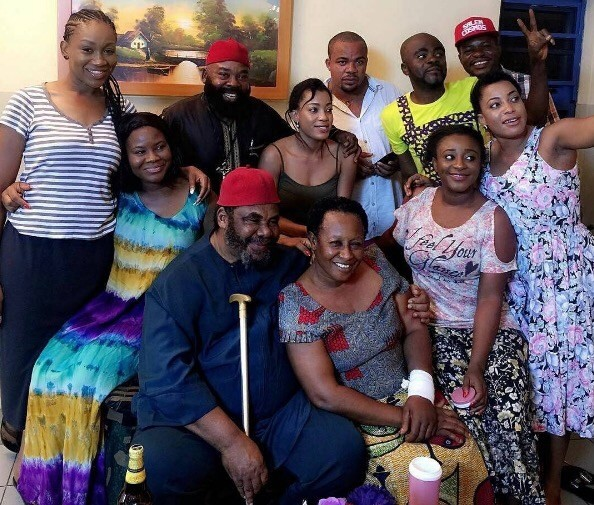 Ini Edo, Patience Ozokwor, Pete Edochie & more star in New movie 'Ladies First'